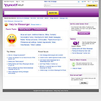 Yahoo! Self-help